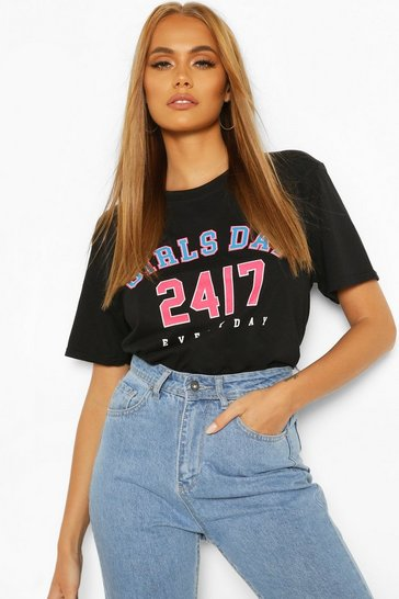 Black Girls Day Slogan T-Shirt