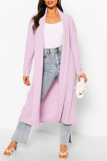 Lilac Tailored Duster