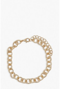 Gold Simple Chain Anklet