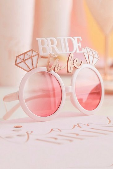 Pink Ginger Ray Bride To Be Glasses