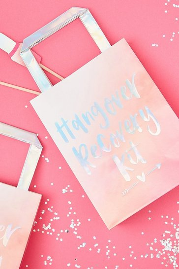 Pink Ginger Ray Hangover Recovery Kit Gift Bags