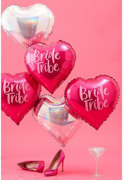 Ballons métallisés Bride Tribe Ginger Ray, Rose