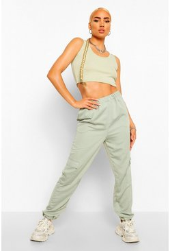 Sage Pocket Side Luxe Jogger