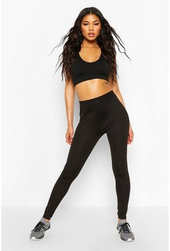 Black 2 Pack Basic Gym Leggings