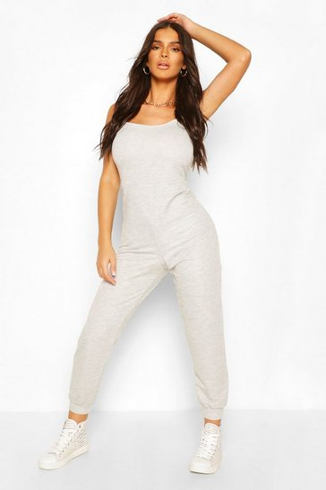 Grey 2 in 1 Cami Top & Jogger Jumpsuit