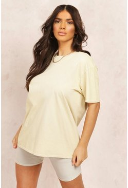 Sand Mix & Match Oversized TShirt
