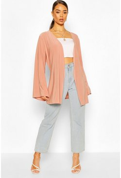 Rose Wide Sleeve Belted Kimono