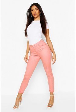 Blush High Waist Skinny Jean