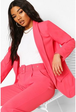 Coral Tailored Blazer