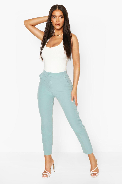 1960s Pants – Top 10 Styles for Women Womens Dress Pants - Blue - M $25.00 AT vintagedancer.com