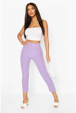 Lilac Tailored Trouser