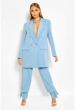 Sky Double Breasted Tailored Blazer