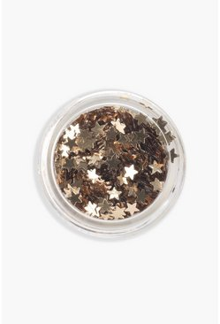 Gold Stargazer Foil Star Face & Body Pot