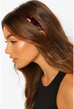 Brown Tort Wide Headband
