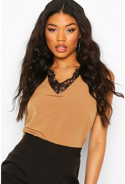 Stone Lace Sleeveless Top