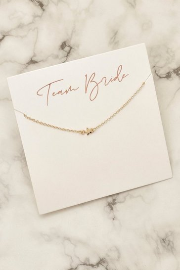 Gold Team Bride Star Bracelet On Gifcard