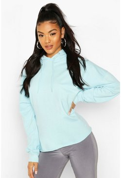 Light blue Basic Oversized Hoodie