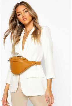 Camel Slouch Oversized Bum Bag