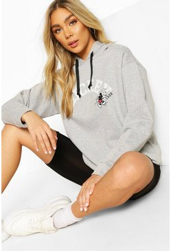 Grey Disney Mickey Mouse Hoodie