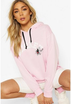 Sweat à capuche Mickey Mouse Disney, Rose