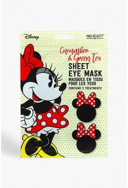 Antifaz para ojos calmante de Minnie Mouse de Disney, Blanco