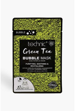Technic Green Tea Bubble Mask