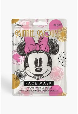 Black Disney Minnie Mouse Magic Face Mask