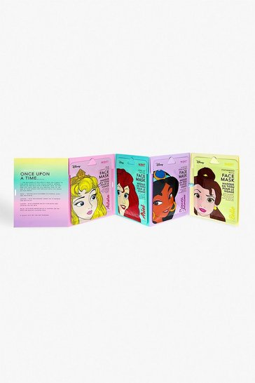 Blue Disney Princess Face Mask Collection