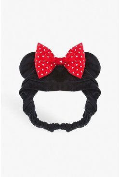 Diadema facial de Minnie Mouse Disney, Negro