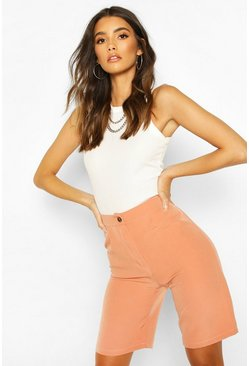 Coral Tailored City Shorts