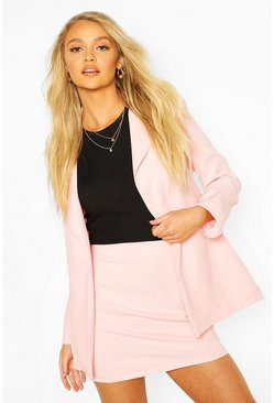 Blush Tailored Mix & Match Mini Skirt