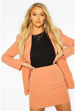 Coral Tailored Mix & Match Mini Skirt