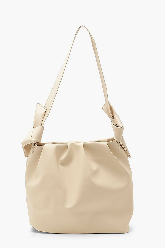 Knot Shopper Bag Back Rosa Väskor Accessoarer