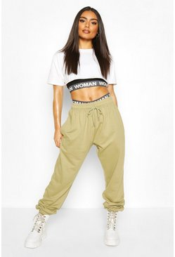 Sage Oversized Basic Loopback Jogger
