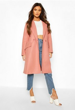 Rose Tailored Wool Look Coat