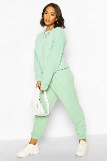 Mint Washed Oversized Jogger