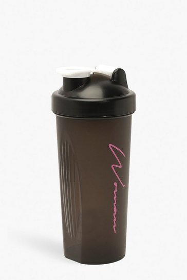 Black Woman Sport Protein Shaker Bottle