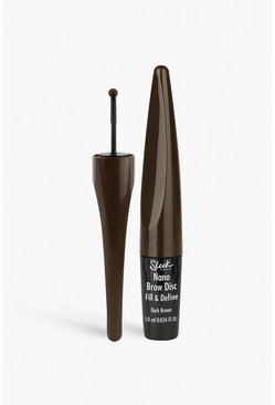 Sleek Nano Brow Disk Dark Brown 1ml