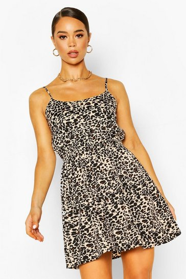 Leopard Strappy Sundress