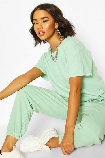 Mint Washed Oversized Tshirt