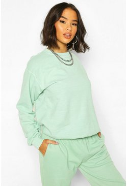 Mint Washed Oversized Sweat