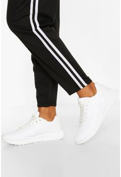 Basic Running Trainers, White