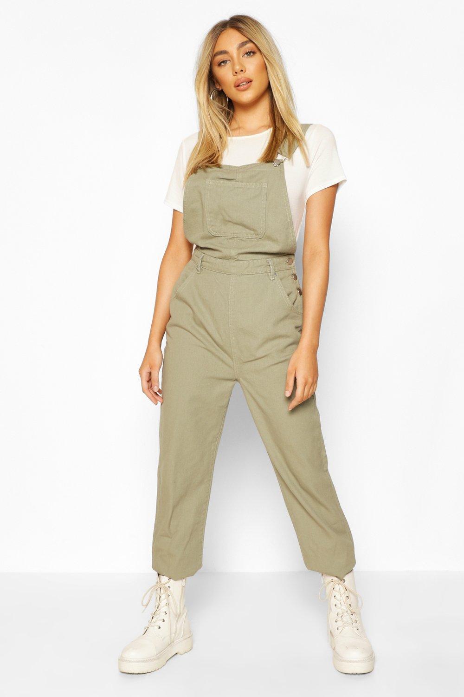 Vintage High Waisted Trousers, Sailor Pants, Jeans Womens Denim Boyfriend Overall - Green - 12 $25.00 AT vintagedancer.com