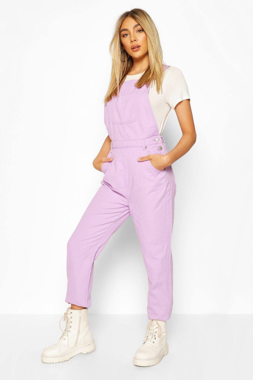 Vintage High Waisted Trousers, Sailor Pants, Jeans Womens Denim Boyfriend Overall - Purple - 12 $25.00 AT vintagedancer.com