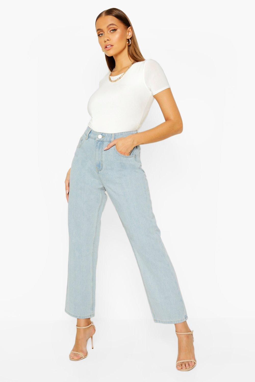 60s – 70s Pants, Jeans, Hippie, Bell Bottoms, Jumpsuits Womens High Rise Wide Leg Jean - Blue - 8 $16.00 AT vintagedancer.com