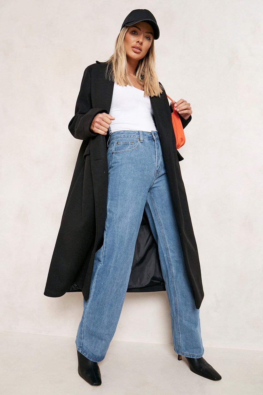 80s Jeans, Pants, Leggings Womens High Rise Wide Leg Jean - Blue - 12 $15.00 AT vintagedancer.com