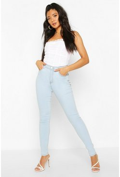 Light blue Power Stretch High Waist Skinny Jean