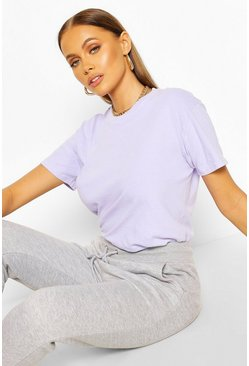 Lilac Washed Oversized T-Shirt