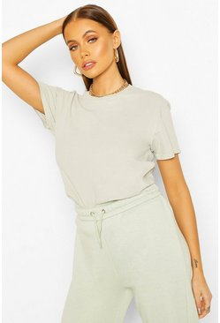 Sage Washed Oversized T-Shirt