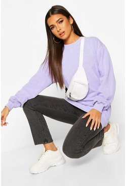 Lilac Washed Oversized Sweat